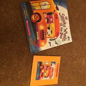 Halloween book with cd buy 2 or more save 50%